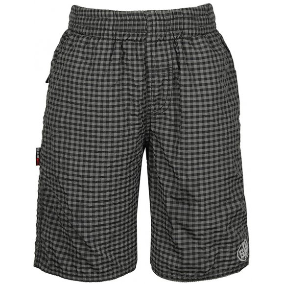 Chlapecké koupací šortky SAM 73 BS 512 ČERNÁ