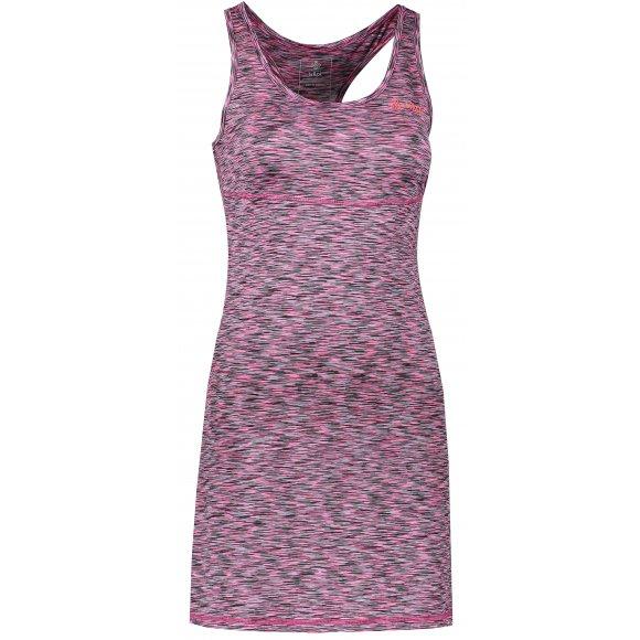 Dámské šaty KILPI SONORA-W IL0070KI RŮŽOVÁ