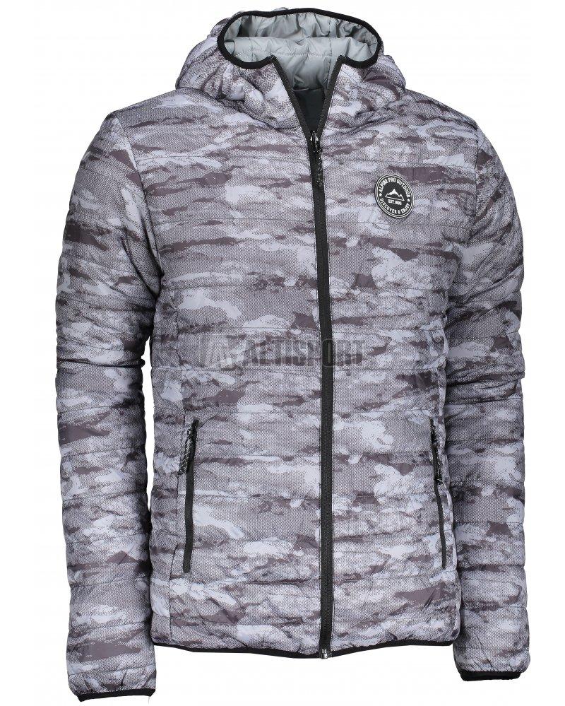Pánská zimní oboustranná bunda ALPINE PRO HOPER MJCM326 ŠEDÁ ... 44d1ead579