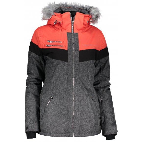 Dámská lyžařská bunda ALPINE PRO DORA 5 LJCM286 ČERVENÁ