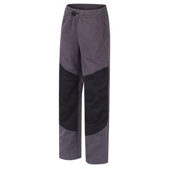 Dětské kalhoty HANNAH TWIN JR 118 DARK SHADOW/ANTHRACITE