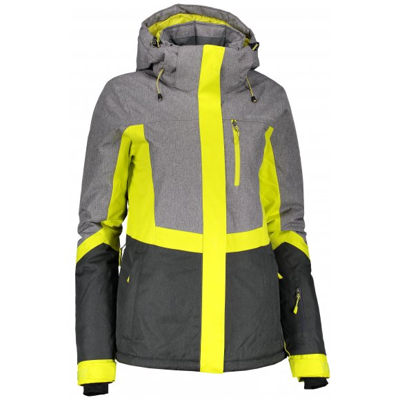 Dámská lyžařská bunda ALPINE PRO SARDARA 2 LJCM287 ZELENÁ