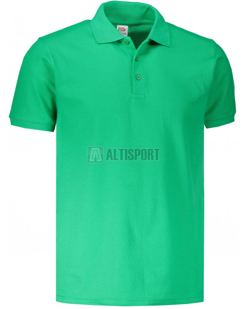 038842b6fca Pánské triko s límečkem FRUIT OF THE LOOM PREMIUM POLO KELLY GREEN ...