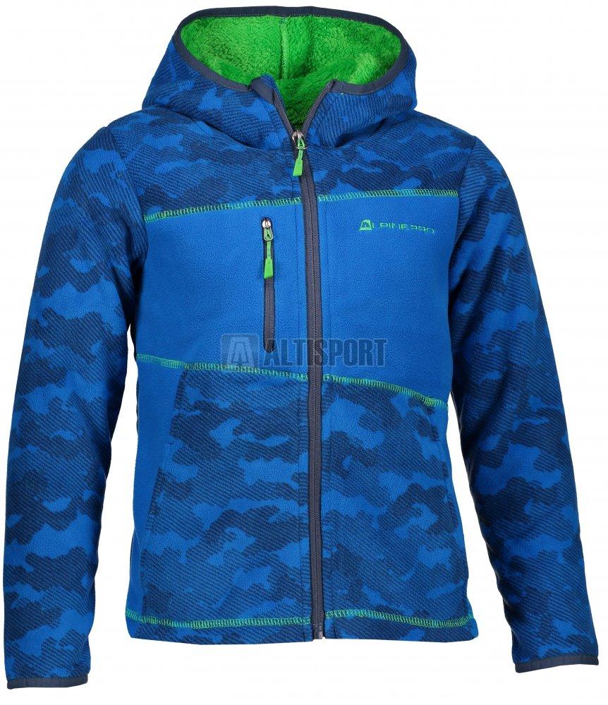 Dětská fleecová mikina ALPINE PRO MANLIO 3 KSWM072 MODRÁ velikost ... f9179e474f