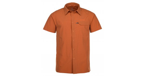 Pánská košile KILPI BOMBAY-M IM0151KI ORANŽOVÁ velikost  M   ALTISPORT.cz f738aa6ba9
