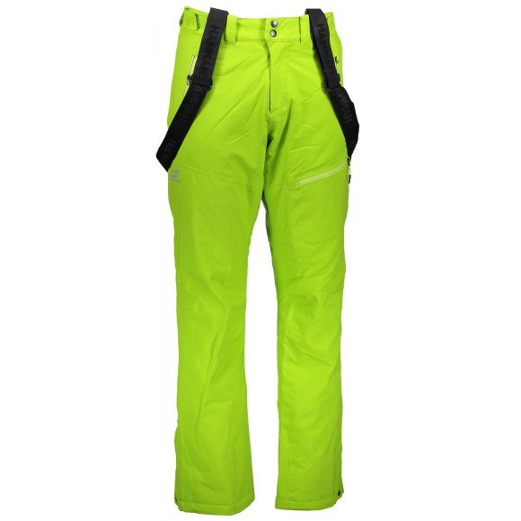 Pánské zimní kalhoty HANNAH AMMAR LIME GREEN