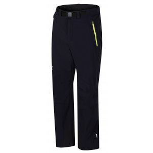4665b1e074d3 Pánské softshellové kalhoty HANNAH GARWYN ANTHRACITE GREEN