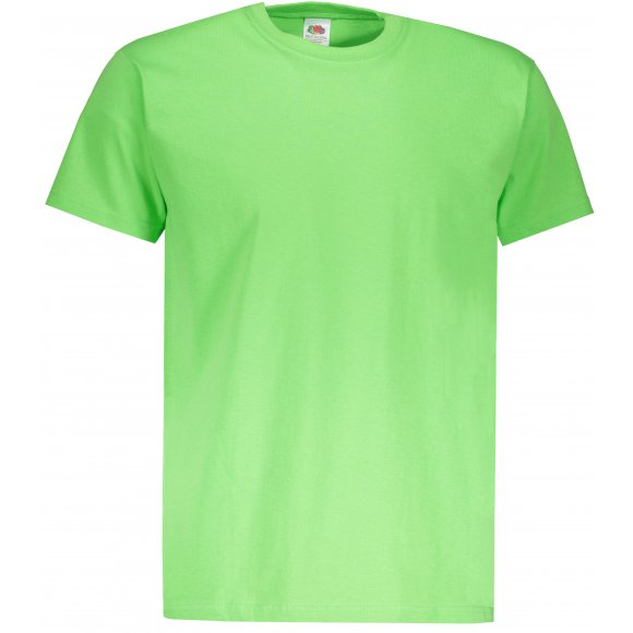 Pánské tričko FRUIT OF THE LOOM VALUEWEIGHT T LIME