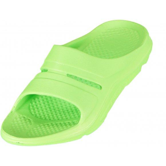 Dětské pantofle PEAK SLIPPER RL1600L FLUORESCENTNÍ ZELENÁ