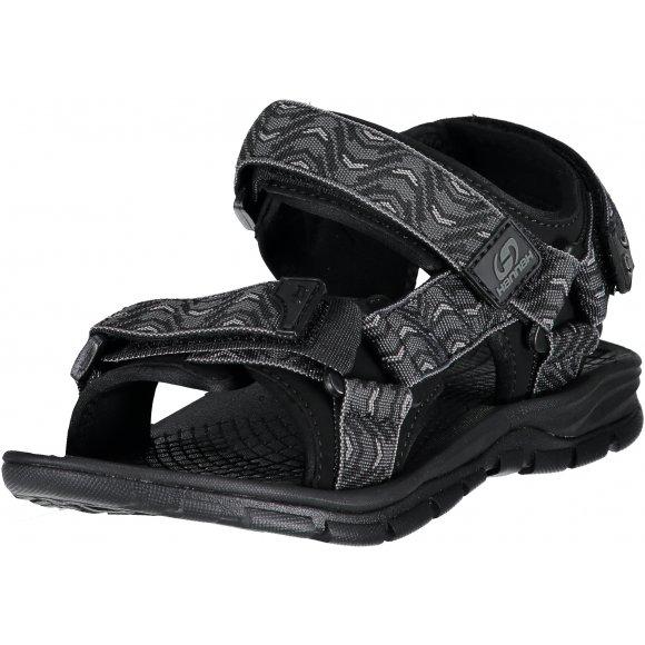 Pánské sandále HANNAH FEET 118HH0206 PEWTER/WAVE