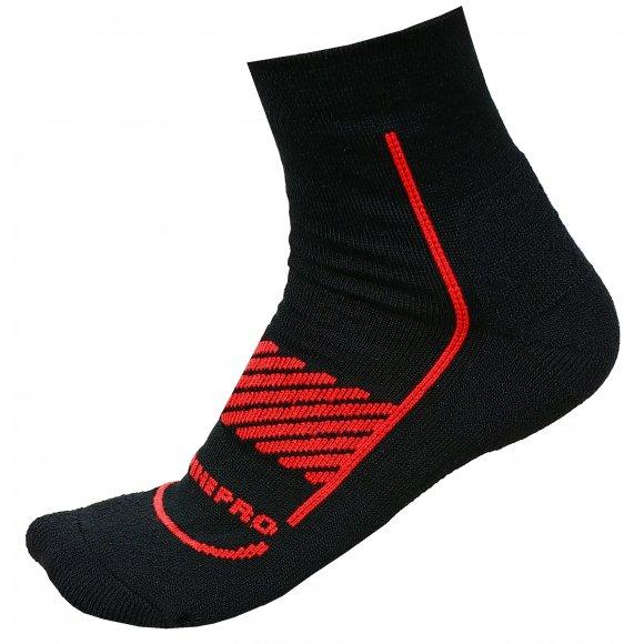 Ponožky ALPINE PRO AMIRAH 2 USCM044 ČERVENÁ