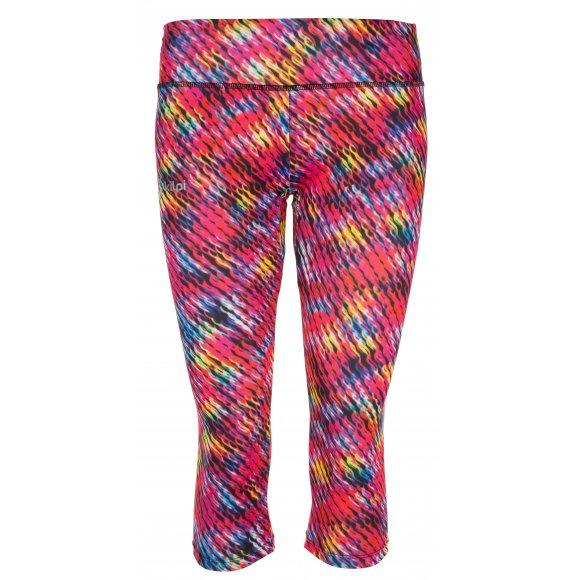 Dámské 3/4 kalhoty KILPI SOTILAS-W IL0035KI RŮŽOVÁ