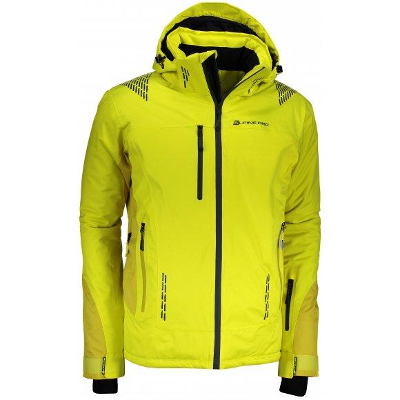 Pánská lyžařská bunda ALPINE PRO MIKAER 2 MJCM306 ZELENÁ