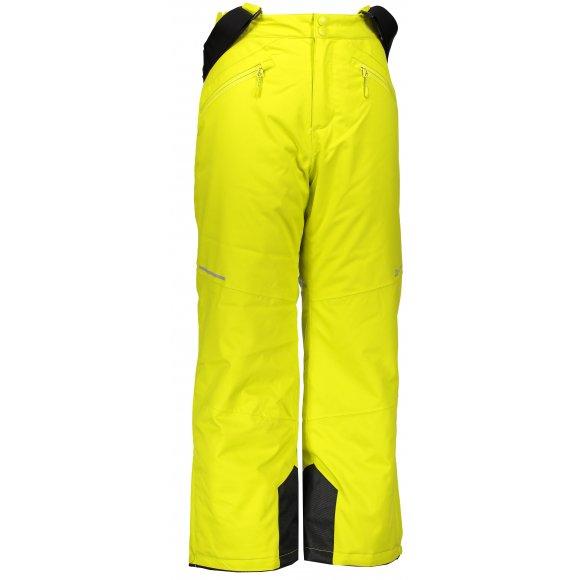 Dětské lyžařské kalhoty ALPINE PRO ANIKO 2 KPAM122 ZELENÁ