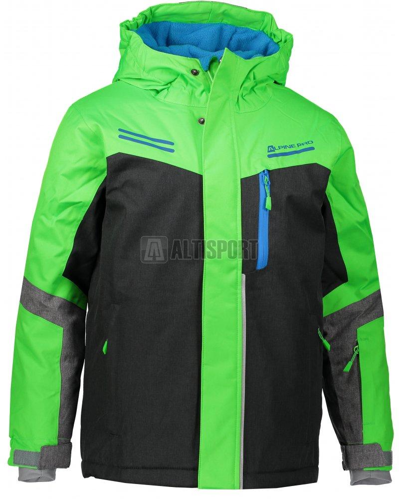 Dětská lyžařská bunda ALPINE PRO SARDARO KJCM122 ZELENÁ velikost  92 ... 12243de3cb