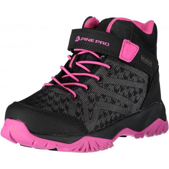Dětská turistická obuv ALPINE PRO UGO KBTM171 RŮŽOVÁ