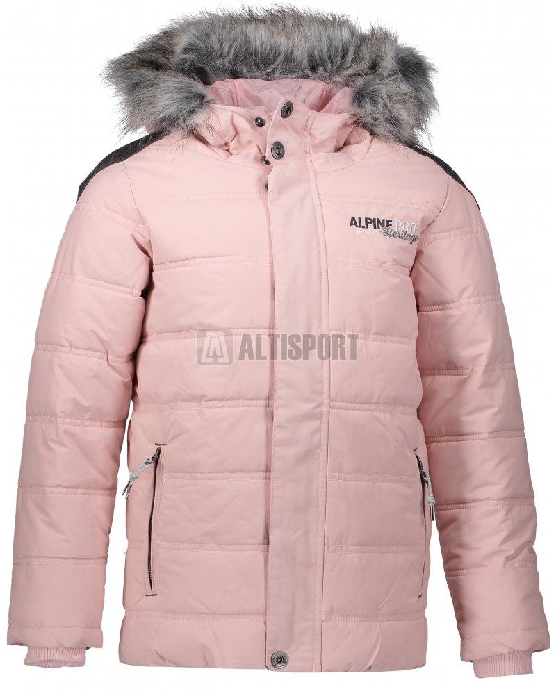 Dětská zimní bunda ALPINE PRO ICYBO 2 KJCM106 SVĚTLE RŮŽOVÁ velikost ... 9e2c034c40