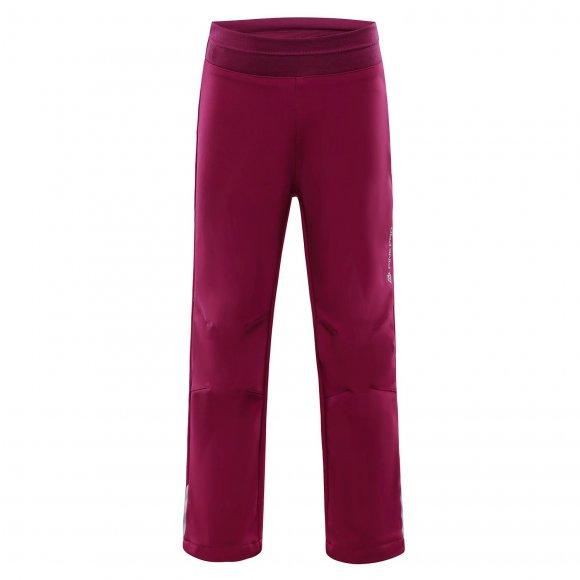 Dětské softshellové kalhoty ALPINE PRO OCIO INS. KPAM072 FIALOVÁ