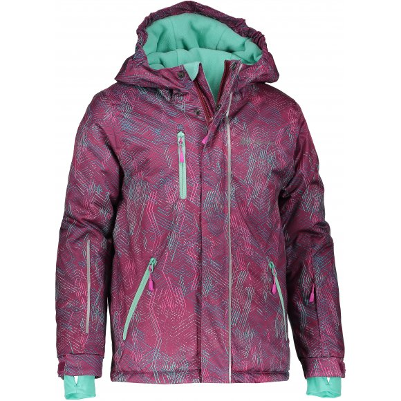 Dětská lyžařská bunda ALPINE PRO AGOSTO 2 KJCM123 FIALOVÁ