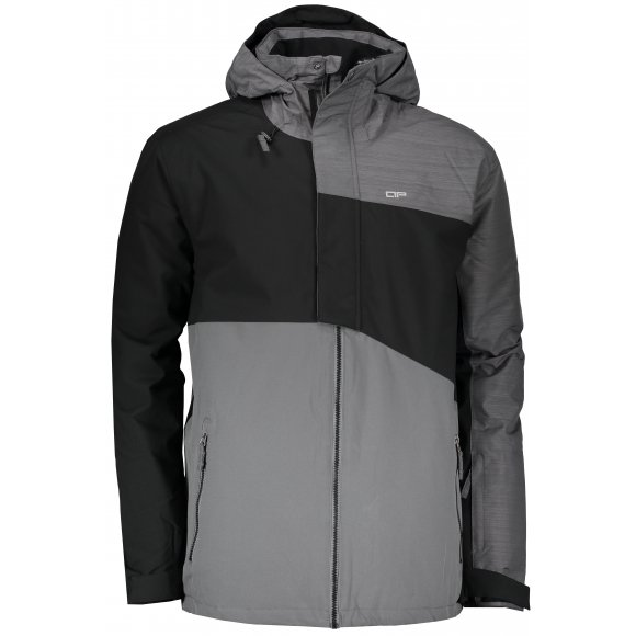 Pánská zimní bunda ALPINE PRO TING MJCM334 ČERNÁ