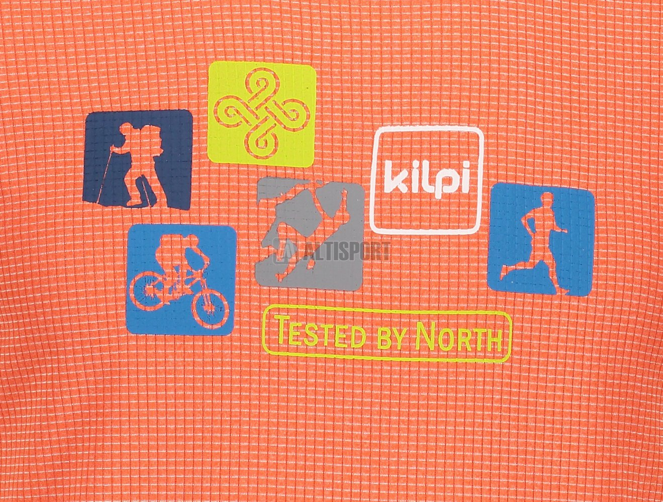 Pánské funkční triko s krátkým rukávem KILPI GIACINTO-M IM0110KI ORANŽOVÁ 371922c72a