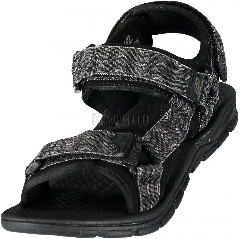 5c6553ae87d Pánské sandále HANNAH FEET PEWTER WAVE velikost  EU 44 (UK 10 ...