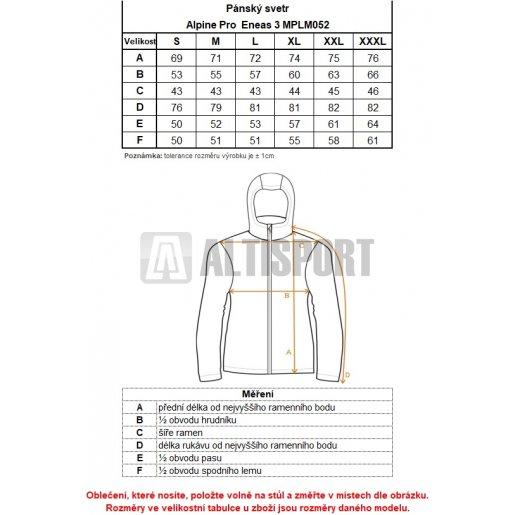 Pánský svetr ALPINE PRO ENEAS 3 MPLM052 TMAVĚ MODRÁ velikost  L ... cf0e272a9f