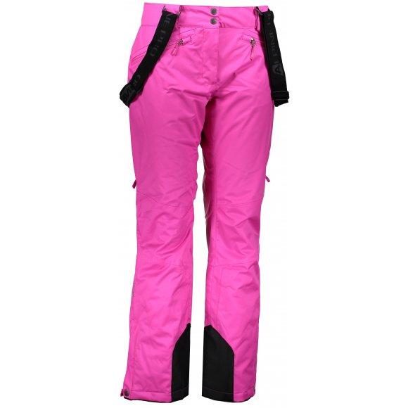 Dámské lyžařské kalhoty ALPINE PRO MINNIE 4 LPAM280 RŮŽOVÁ