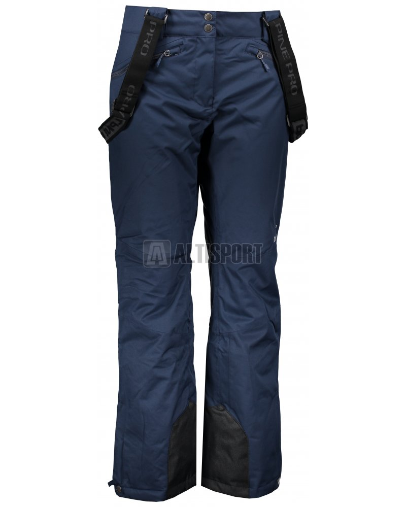 Dámské lyžařské kalhoty ALPINE PRO MINNIE 4 LPAM280 TMAVĚ MODRÁ ... 80addaa35c