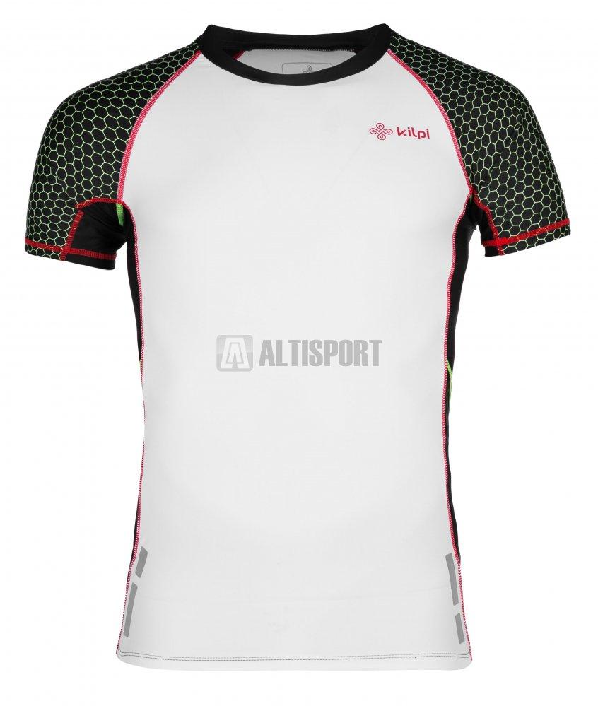 Pánské funkční triko s krátkým rukávem KILPI COMBO-M IM0011KI BÍLÁ ... e2adfc92d0