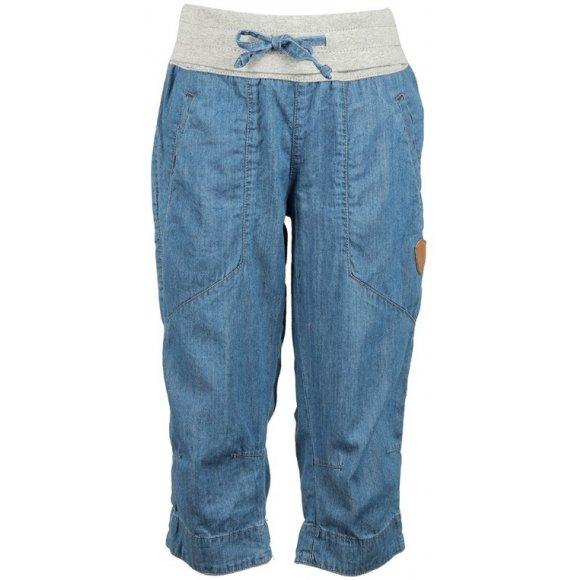 Dívčí 3/4 kalhoty SAM 73 GS 508 SVĚTLÁ DENIM