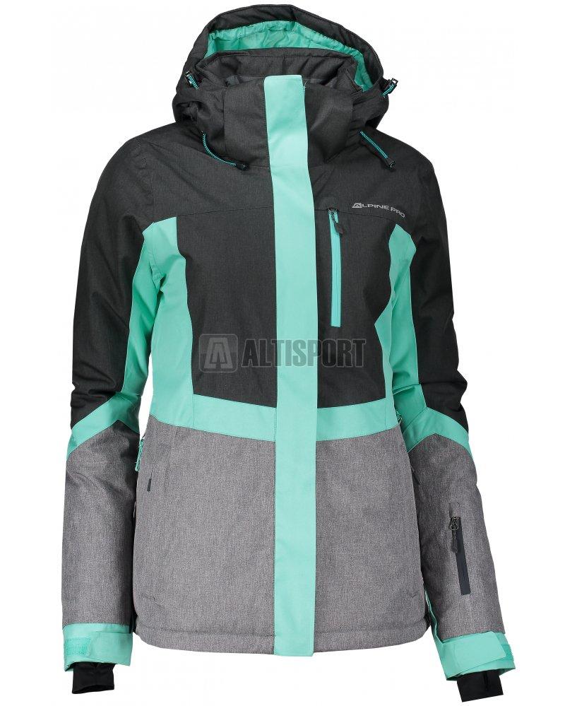Dámská lyžařská bunda ALPINE PRO SARDARA 2 LJCM287 ŠEDOZELENÁ ... 8e4c17e9dd