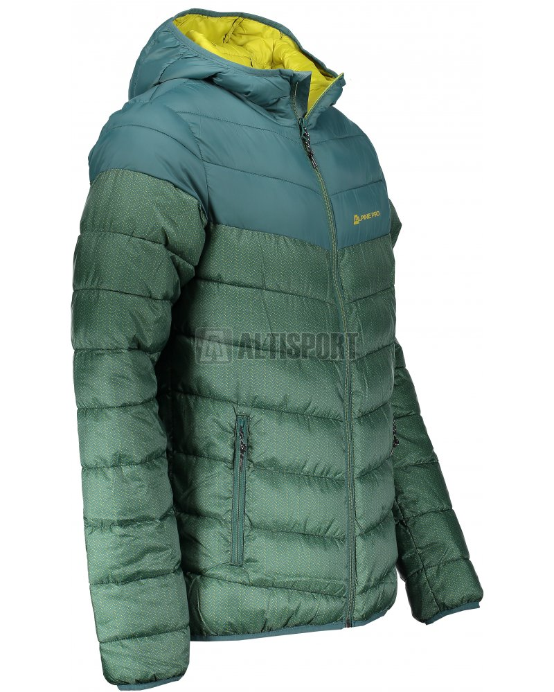 Pánská bunda ALPINE PRO MOROR 3 MJCM287 ZELENÁ velikost  L ... adf29d37b8e