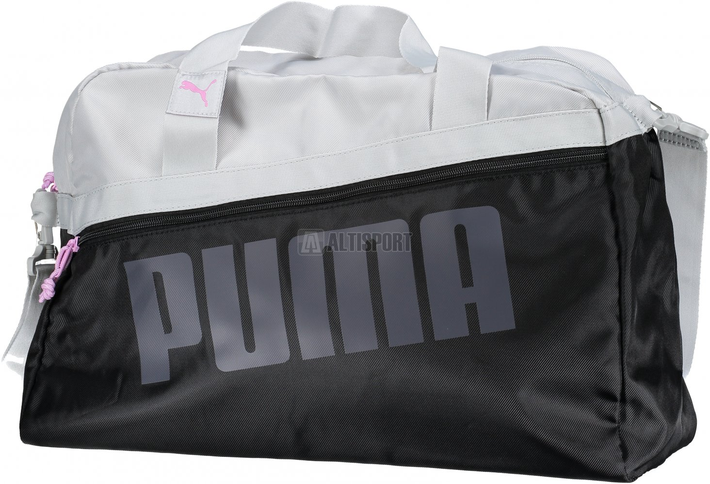 94680fb9d3 Dámská sportovní taška PUMA DANCER GRIP BAG 07546401 PUMA BLACK GRAY VIOLET