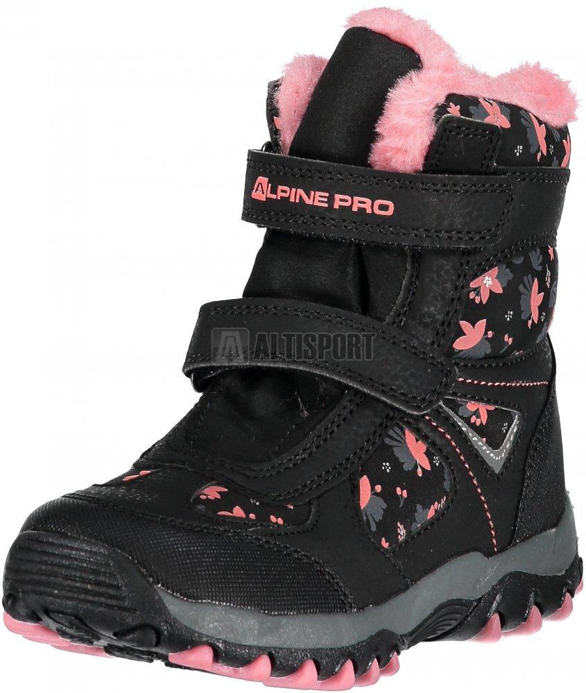 34e21b56be1 Dětské zimní boty ALPINE PRO WANO KBTM169 ČERNÁ velikost  34 ...