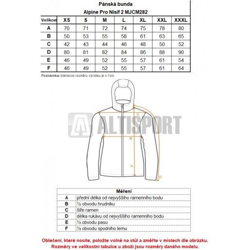 Pánská softshellová bunda ALPINE PRO NISIF 2 MJCM282 TMAVĚ MODRÁ ... 522802dce8