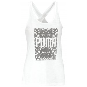 Dámské tílko PUMA ESSENTIAL DRIRELEASE TANK 51527728 PUMA WHITE HEATHER