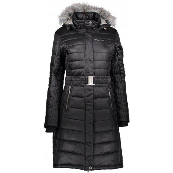 Dámský zimní kabát ALPINE PRO THERESE 3 LCTM063 ČERNÁ