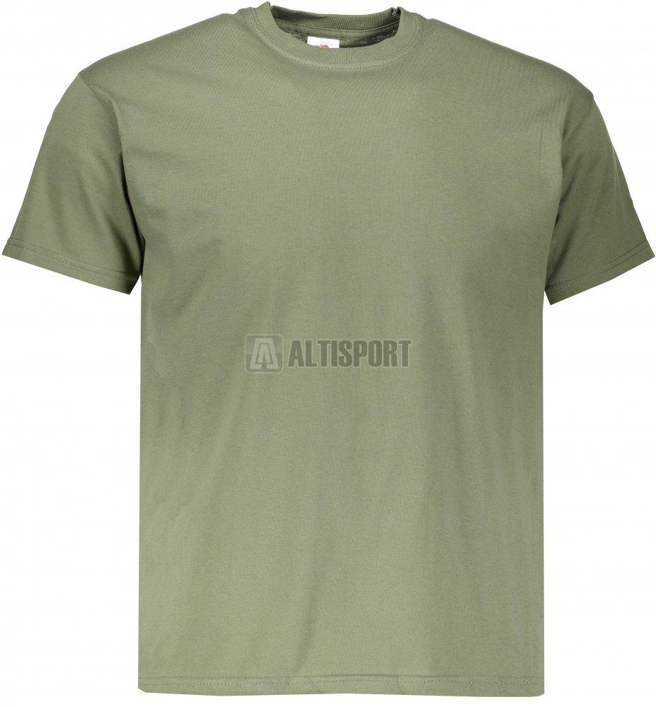 6a13a3000466 Pánské tričko FRUIT OF THE LOOM ORIGINAL CLASSIC OLIVE velikost ...