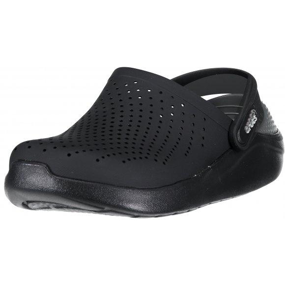 Dámské pantofle CROCS LITERIDE CLOG 204592-0DD BLACK/SLATE GREY