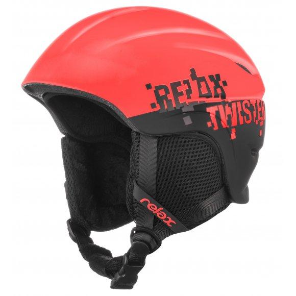 Dětské lyžařská helma RELAX TWISTER RH18Z RED