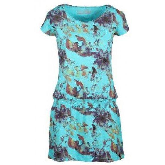Dámské šaty SAM 73 BOAZA 2 LSKL127 SVĚTLE MODRÁ