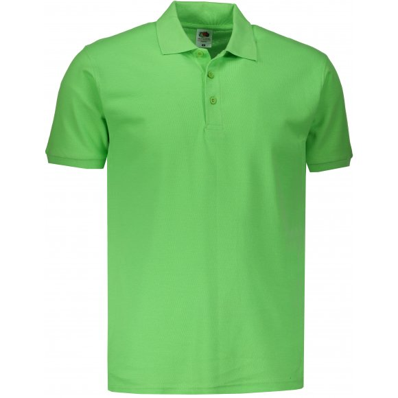 Pánské triko s límečkem FRUIT OF THE LOOM PREMIUM POLO LIME