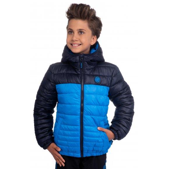 Chlapecká bunda SAM 73 BB 512 JASNĚ MODRÁ