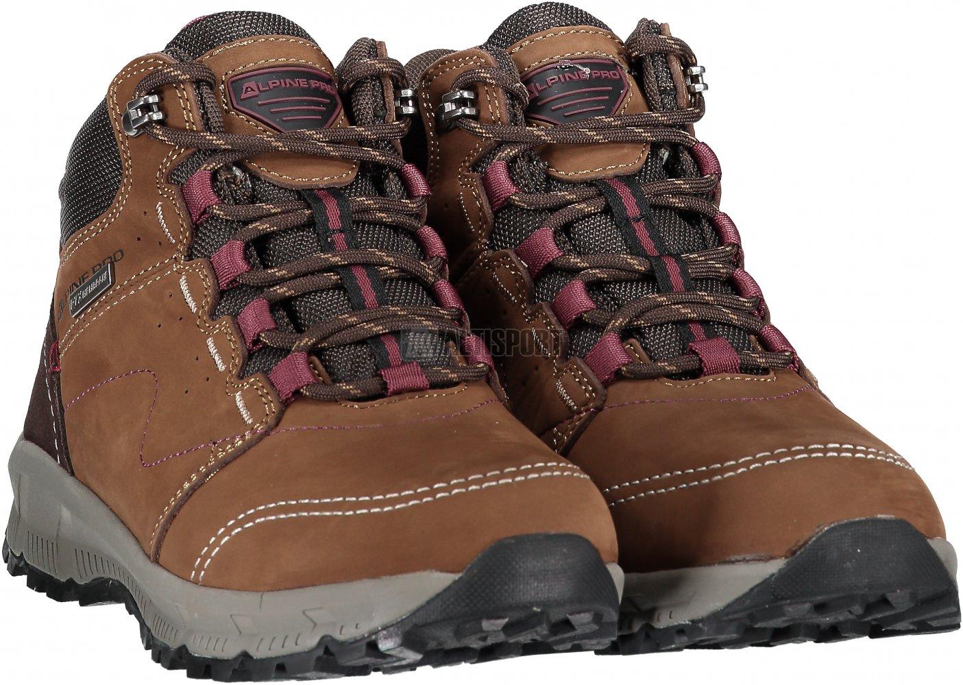 Dámské zimní boty ALPINE PRO ERELA LBTM178 HNĚDÁ velikost  EU 36 (UK ... 38e8fe83ddd