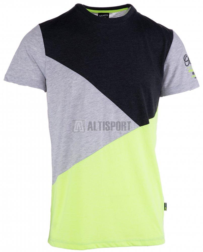 Pánské triko s krátkým rukávem SAM 73 MT 745 ČERNÁ velikost  S ... 15ff0c6158