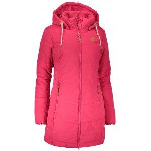 Dámský zimní kabát SAM 73 WB 750 MALINOVÁ