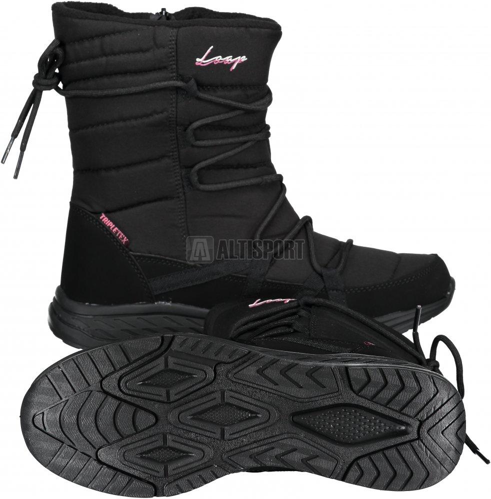 5f40d73d283 Dámské zimní boty LOAP ALTENA SBL18105 ČERNORŮŽOVÁ velikost  EU 36 ...