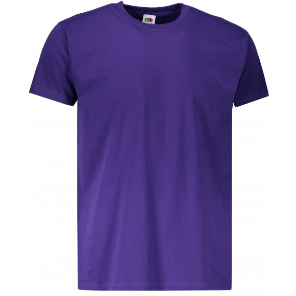 Pánské tričko FRUIT OF THE LOOM VALUEWEIGHT T PURPLE