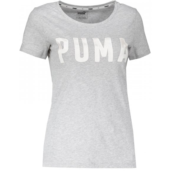 Dámské triko PUMA ATHLETIC TEE 85185704 LIGHT GRAY HEATHER